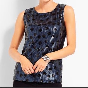 RSVP by Talbot bills for sequin tank top